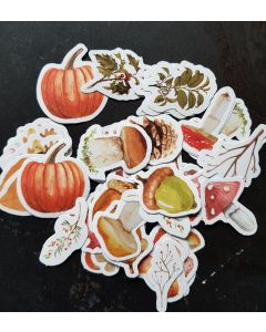 herfst sticker natuur