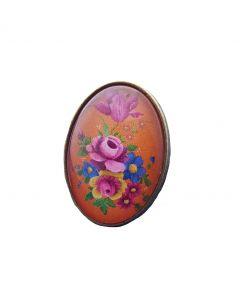 Ring vintage bloemen