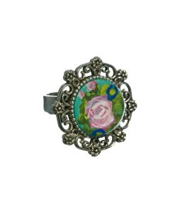 Ring rond mintgroen
