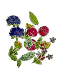 handmade bloemen aquarel