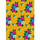 Kaart bloemen geel